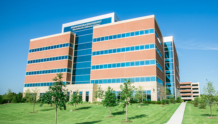 Midwestern University Multispecialty Clinic building