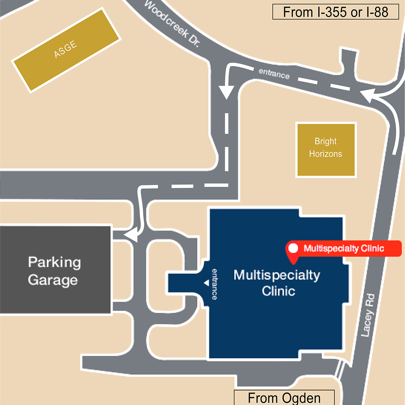 Midwestern University Glendale Campus Map.Contact Midwestern University Clinics Mwu Clinics Downers Grove Il