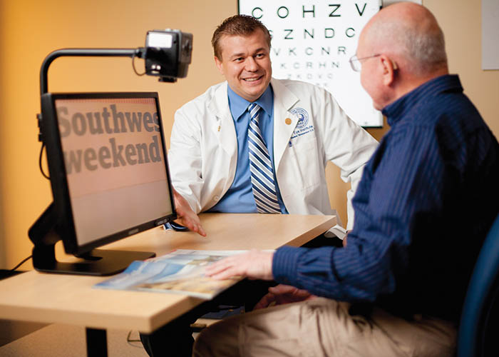 Midwestern University Clinics Arizona Eye Institute Low Vision Rehabilitation