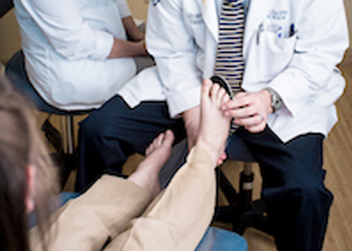 Midwestern University Clinics Arizona Multispecialty Podiatry Patient