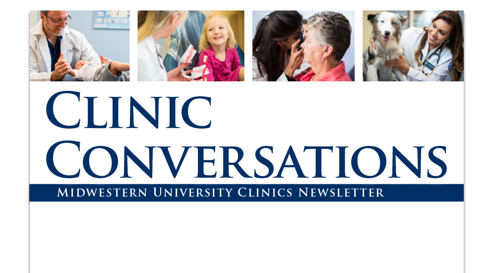 Midwestern University Clinics Newsletter Cover