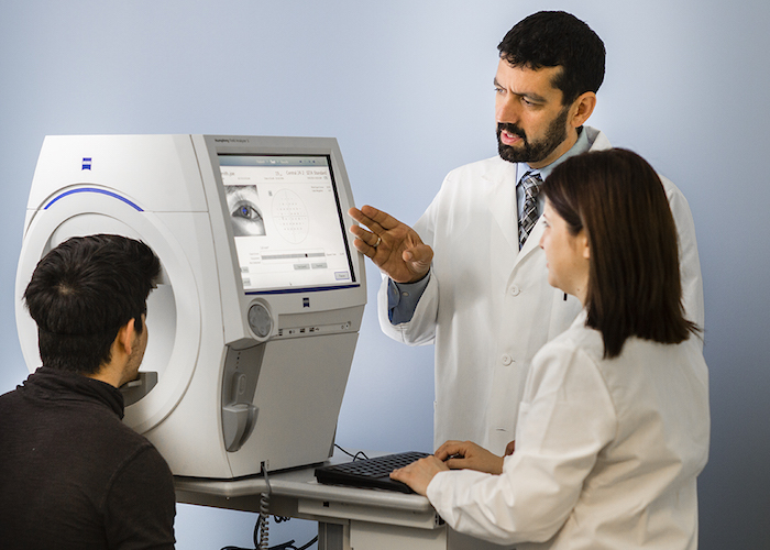 Midwestern University Clinics Eye Institute State-Of-The-Art Vision Screening